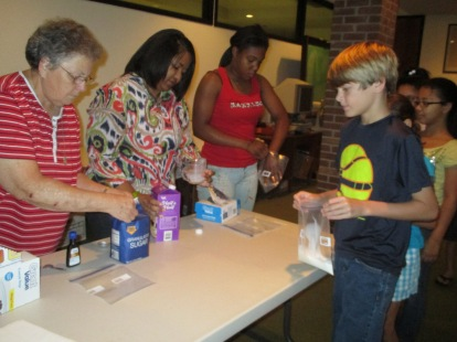 Ice cream in a bag activity