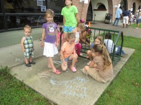 July 1st Story Time, Sidewalk Chalk, and Popsicles!