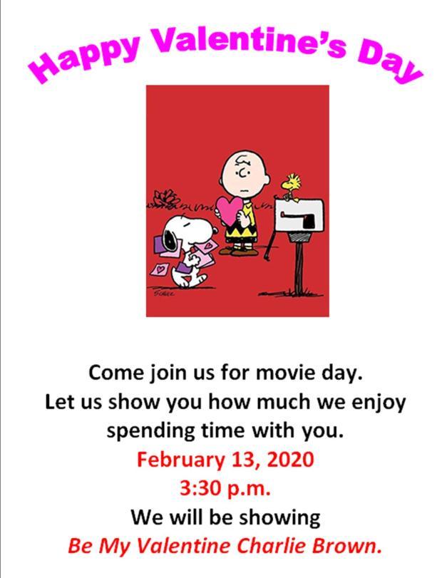 Valentine's day movie (website)